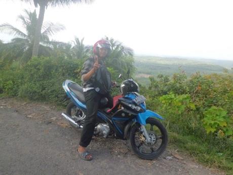 Motor yang di Test Ride