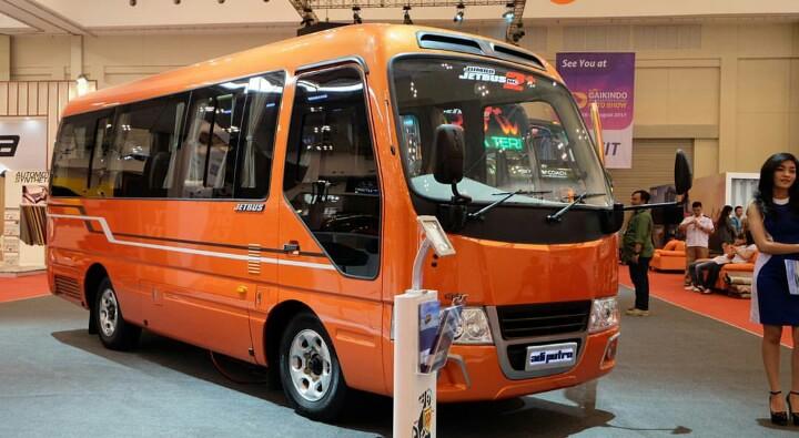 Jetbus CT dan Jumbo Jetbus MC2 .. Model Medium Bus terbaru ...