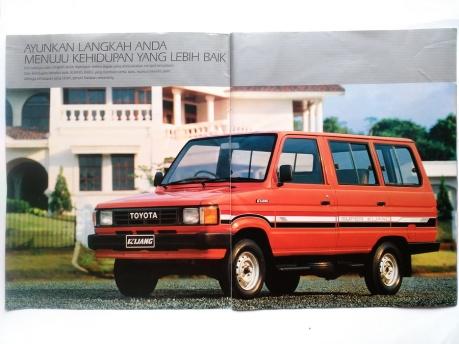 Sejarah Toyota Kijang Part Iii Kijang Super Kf 40 Kf50