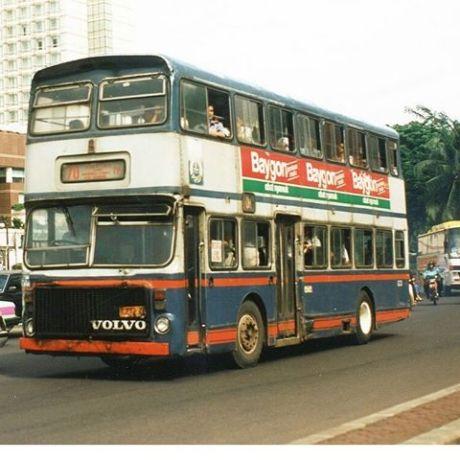 Hasil gambar untuk bus tingkat volvo