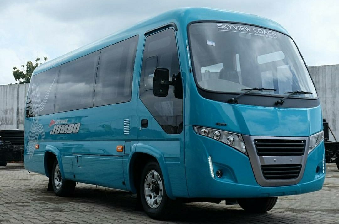 jetbus jumbo skyview coach microbus mewah dari karoseri adiputro awansan. Black Bedroom Furniture Sets. Home Design Ideas