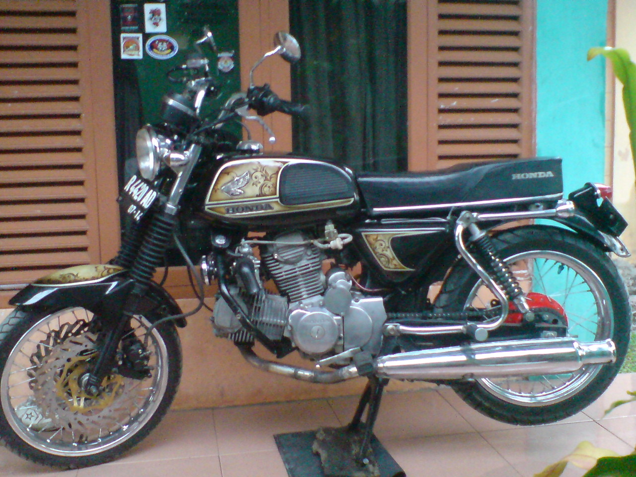 Aneka Macam Modifikasi Honda CB Mesin Jahat AWANSAN
