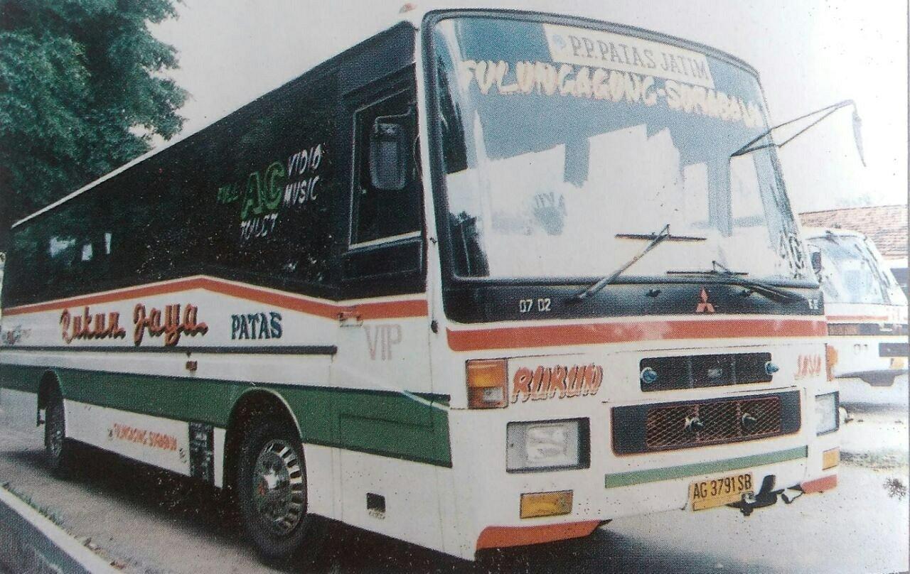 Mengenang Bus Bus Lawas Produksi Karoseri Trijaya Union