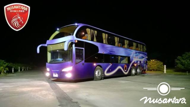 Image result for maxi miracle double decker nusantara gemilang